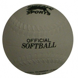 "12"" Rubber Kapok Softball"