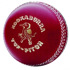 Kookaburra Tuff Pitch 2pce Cricket Ball
