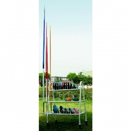 Discus, Shot Put & Javelin Cart Stand