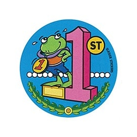Frog Place Sticker