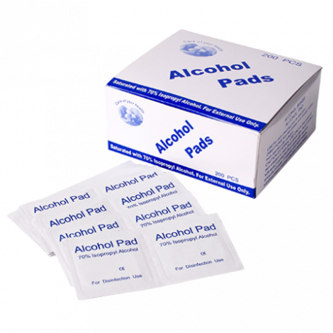 Alcohol Prep Swabs - Box 200