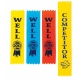 Competitor or Well Done Sports Day Ribbons