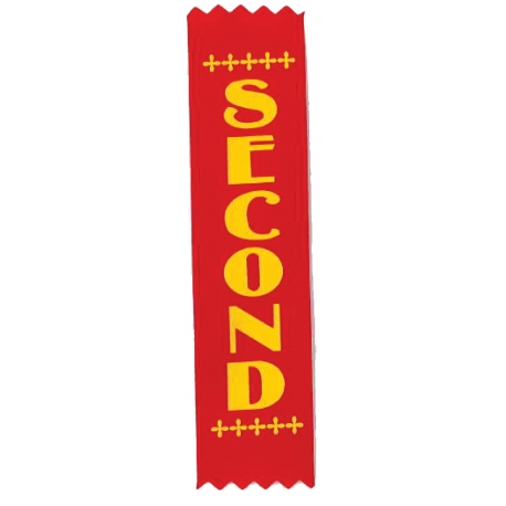 1st - 4th Sports Day Place Ribbons