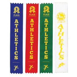 Athletics Sports Day Ribbons (1st - 4th Place)