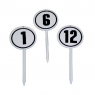 Round Numbered Marker Pin Set