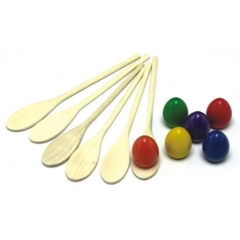 Egg & Spoon Set