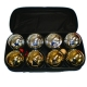 Bocce Chrome Set