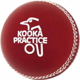 Kookaburra Practice 2pce Cricket Ball