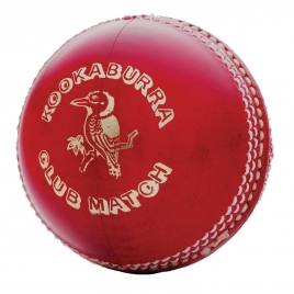 Kookaburra Club Match 4pce Cricket Ball
