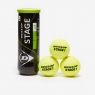 Ball - Dunlop Low Inflate Tennis Balls Orange