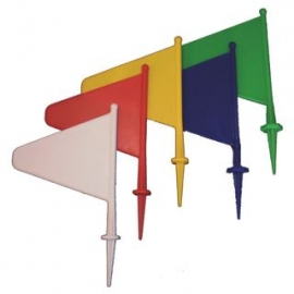 PVC Field Marker Flag