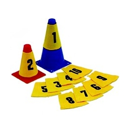 Numbered Sleeves for Cones