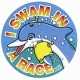 I Swam in a Race Sticker