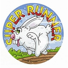 Super Runner Sticker