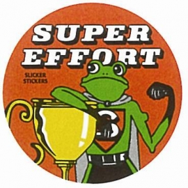 Super Effort Sticker