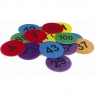 Numbered Marker Discs