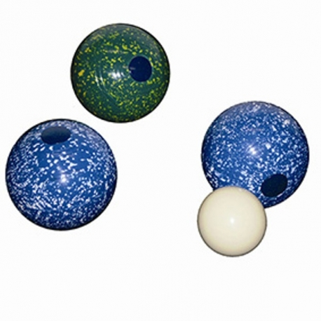 Carpet Bowls 6cm diameter (set)