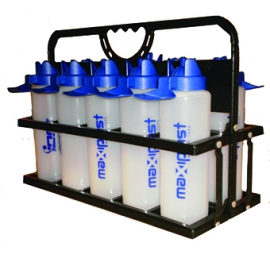 Collapsible 10 Bottle Holder